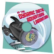 Animation for Dynamic Digital Advertising's Digital Advertising Laboratories CD-ROM